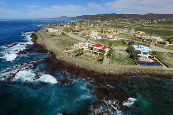 Aerial View of Punta Piedra