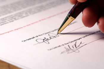 Signing Documents in Mexico