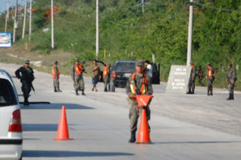 Military Checkpoints In Mexico